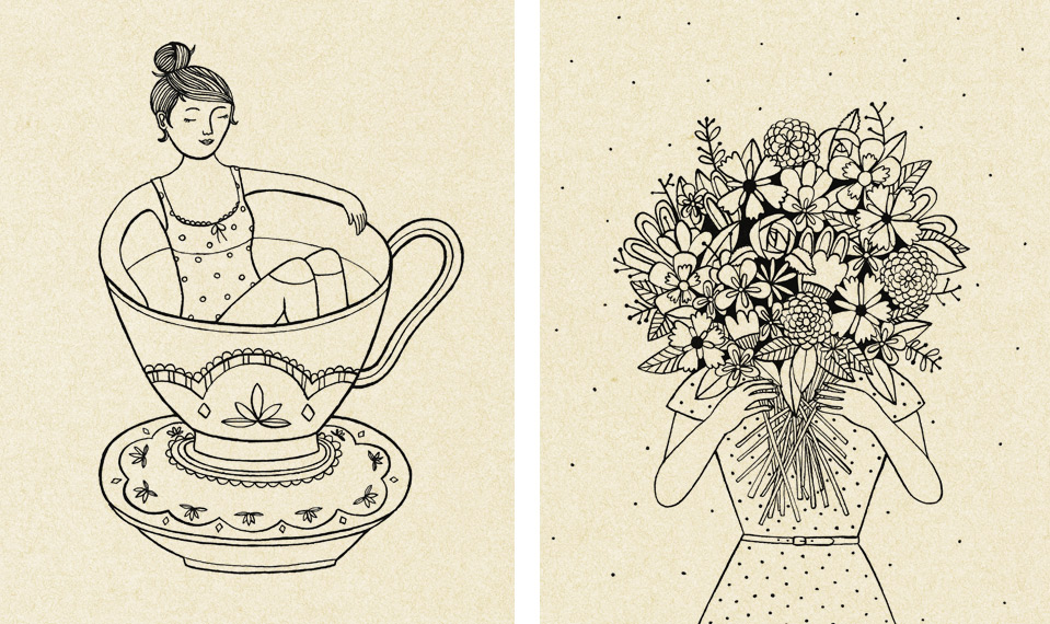 Cute stuff!   Valesca van Waveren Art + Illustration