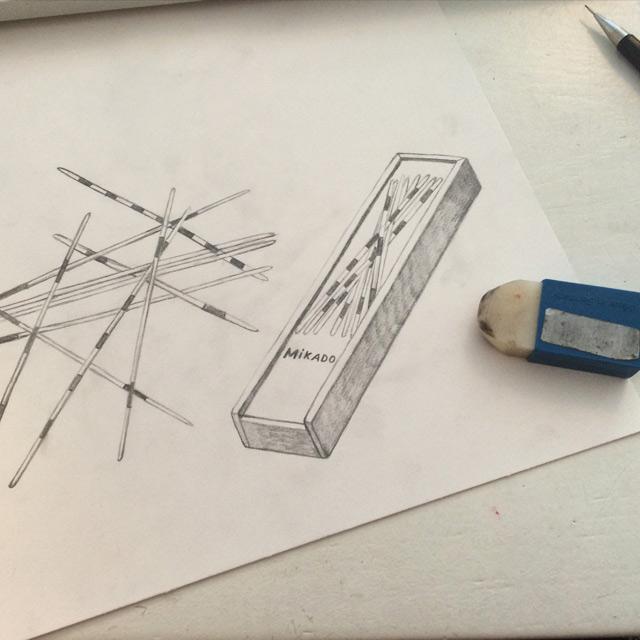 mikado drawing