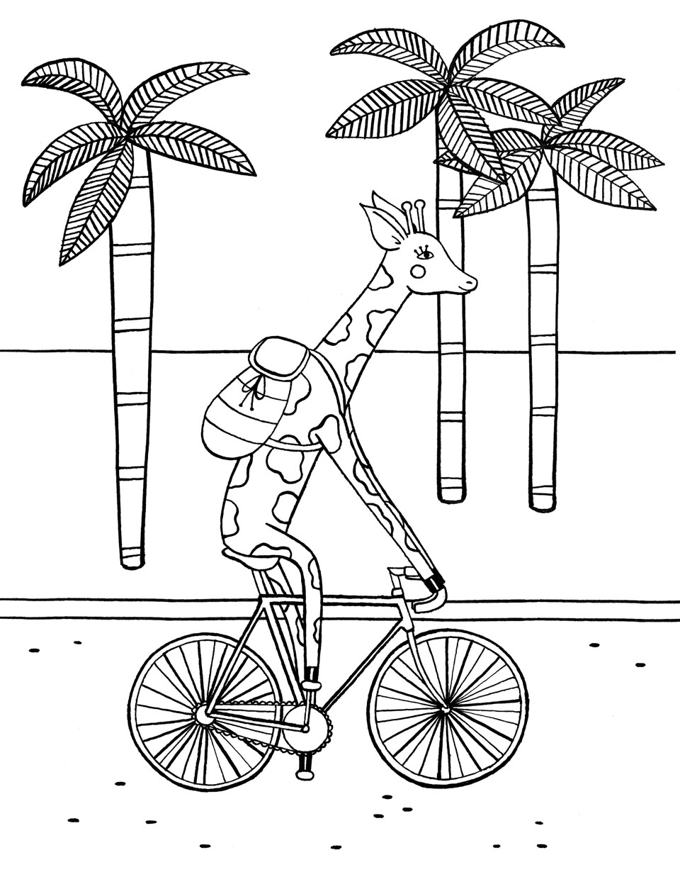 Coloring Page For Flows Book Paper Lovers